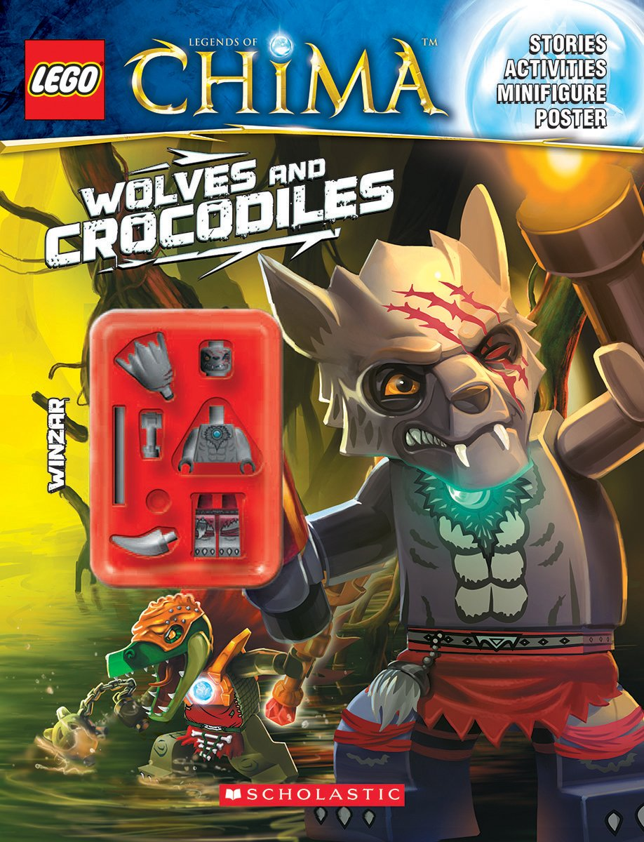 LEGO Legends of Chima: Wolves and Crocodiles (Activity Book #2) ebook