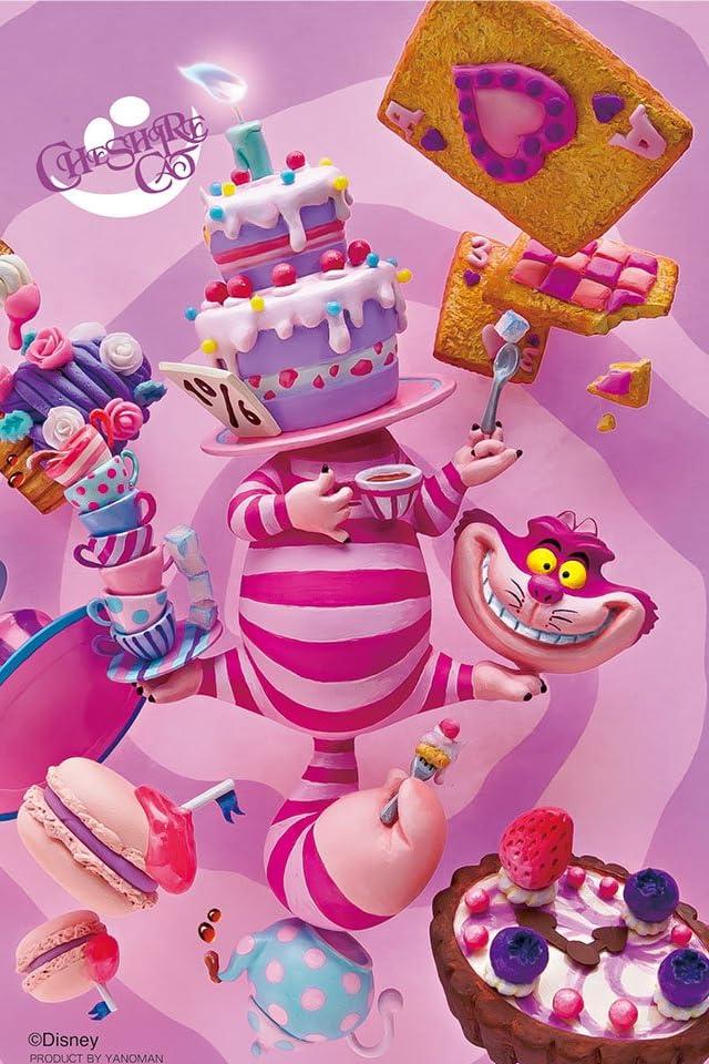 ディズニー ふしぎの国のアリス チェシャ猫のパーティ iPhone(640×960)壁紙画像