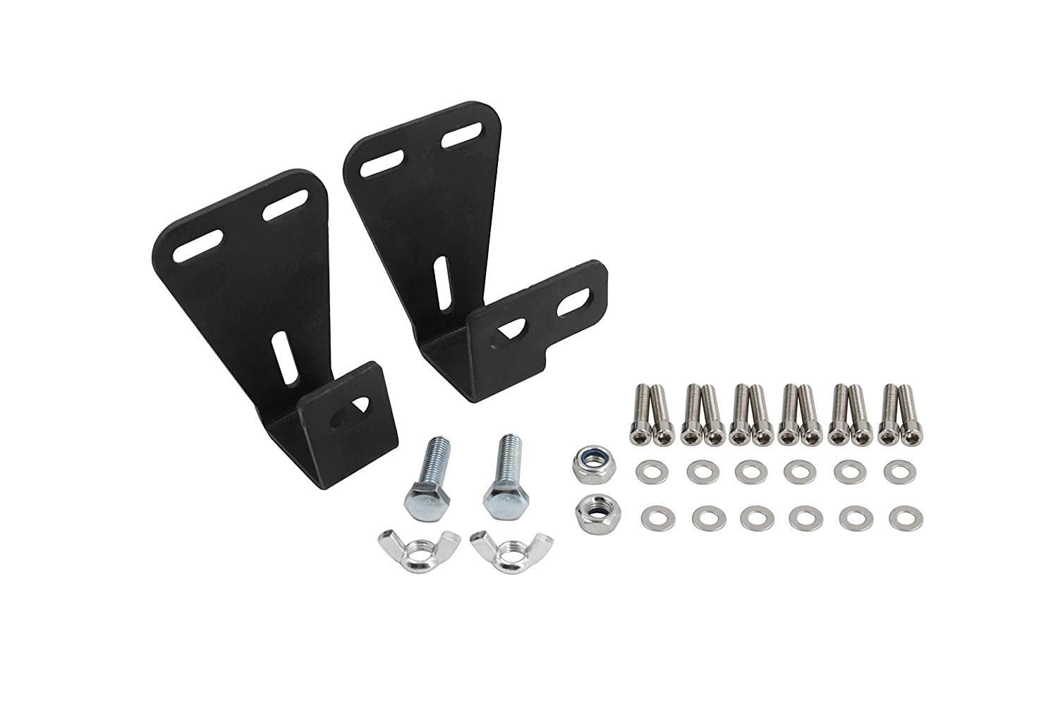 Off Road Hi-Lift Jack Mount Hood Bracket Fit Jeep Wrangler CJ//YJ//TJ 1944-2006 Tiewards 5559006075