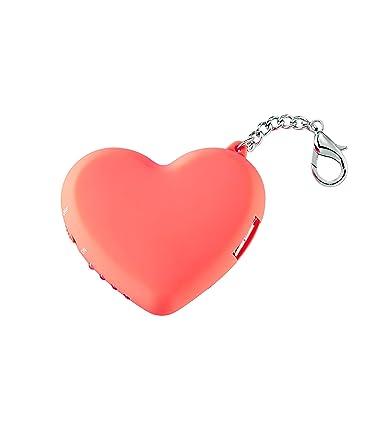 Amazon.com: iPhone cargador de batería en forma de corazón ...