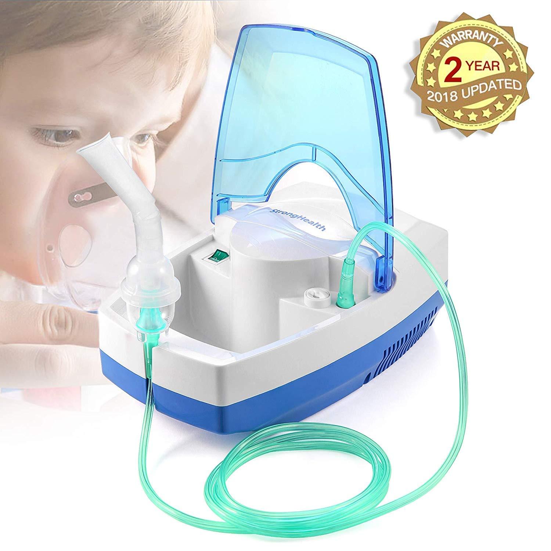 Asma Nebulizer Equipo De Compresor Aire Medicina para Niños Adultos 1 Year Warra by teeofspirit