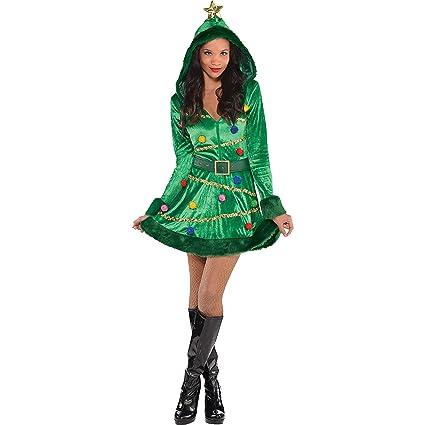 Amazon Com Amscan Christmas Tree Dress For Women Christmas Costume