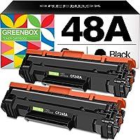 2-Pack Greenbox HP CF248A Toner Replacement Cartridge