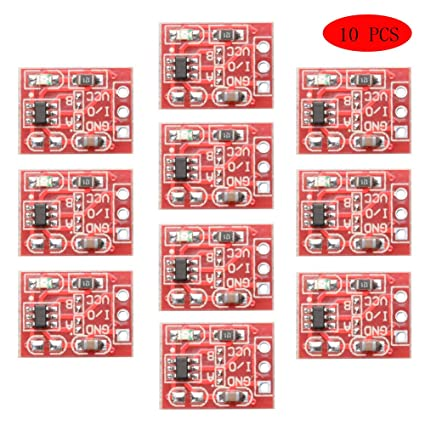 10pcs Diy Kit Parts Ttp223 Module Capacitive Touch Switch Button Self-lock Key Module 2.5-5.5v High Quality Electronic Components & Supplies