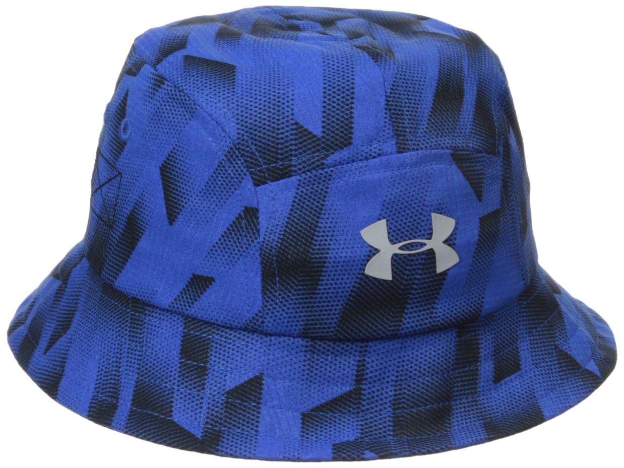 Under Armour Little Boys' Printed Warrior Bucket Hat, Ultra Blue, 1-3