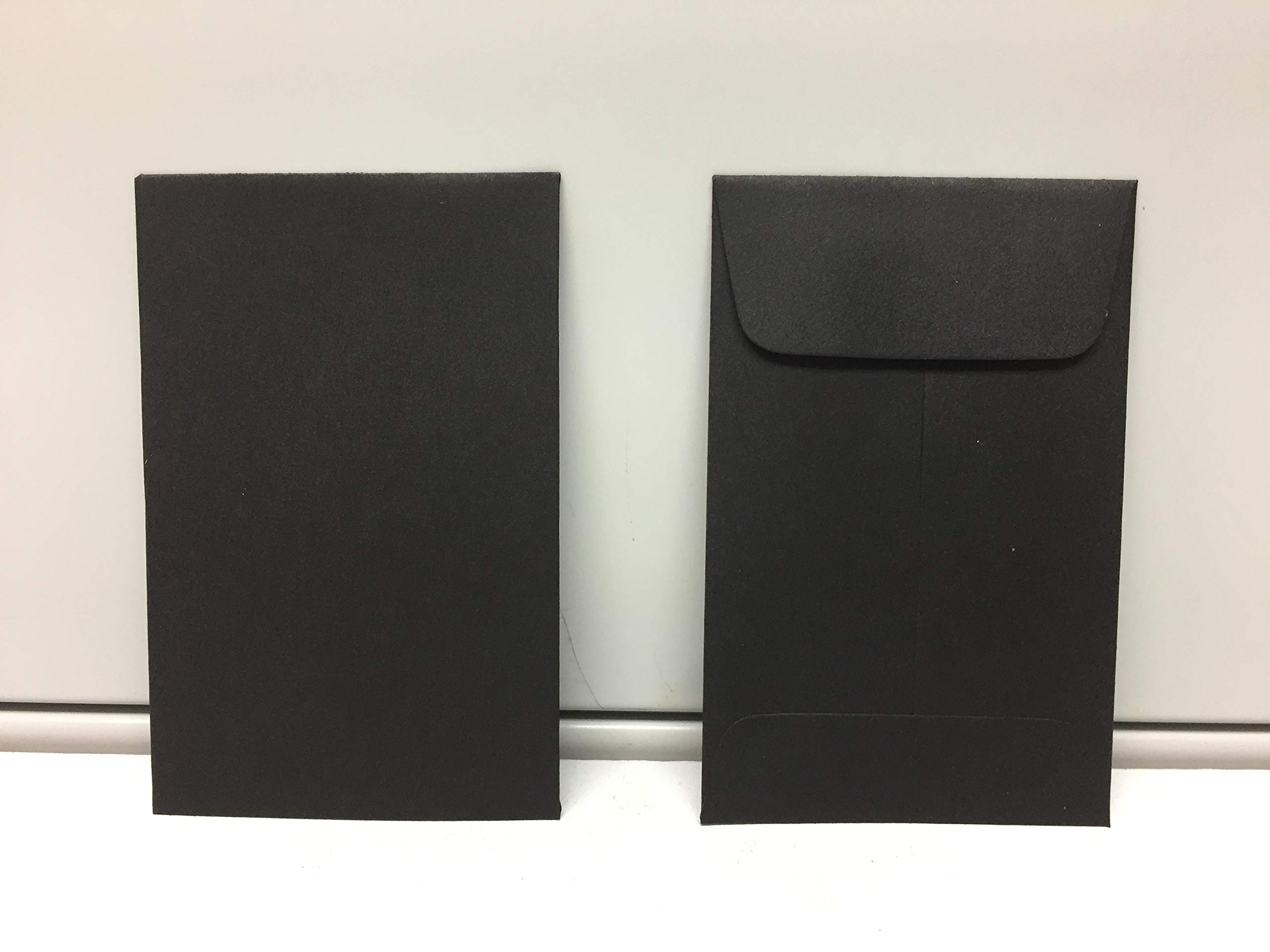 Black #1 Coin Envelope 2 1/4 x 3 1/2 inches 50 Envelopes per Box