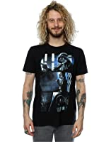 Star Wars Men's Rogue One Darth Vader Comic Strip T-Shirt