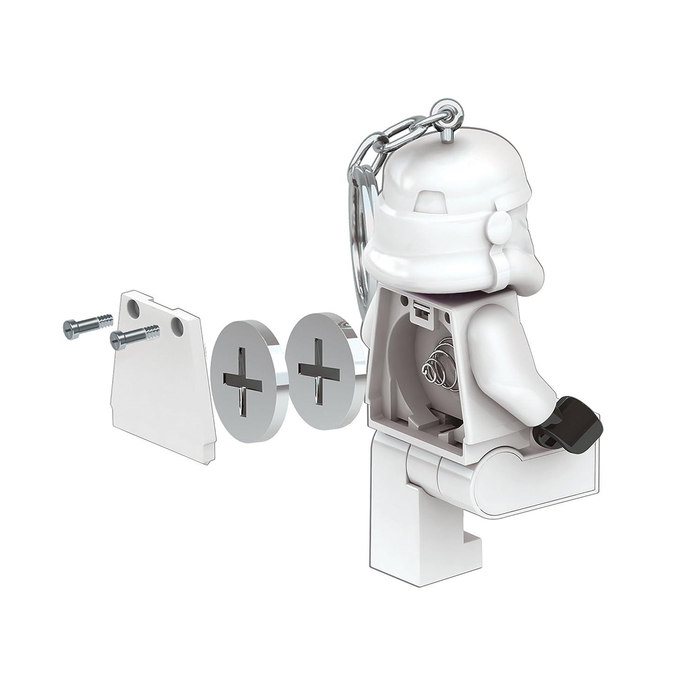 LEGO Star Wars Stormtrooper Key Light Minifigure Key Chain with LED Flashlight San Juan Publishing LGLKE12 Accessory Consumer Accessories