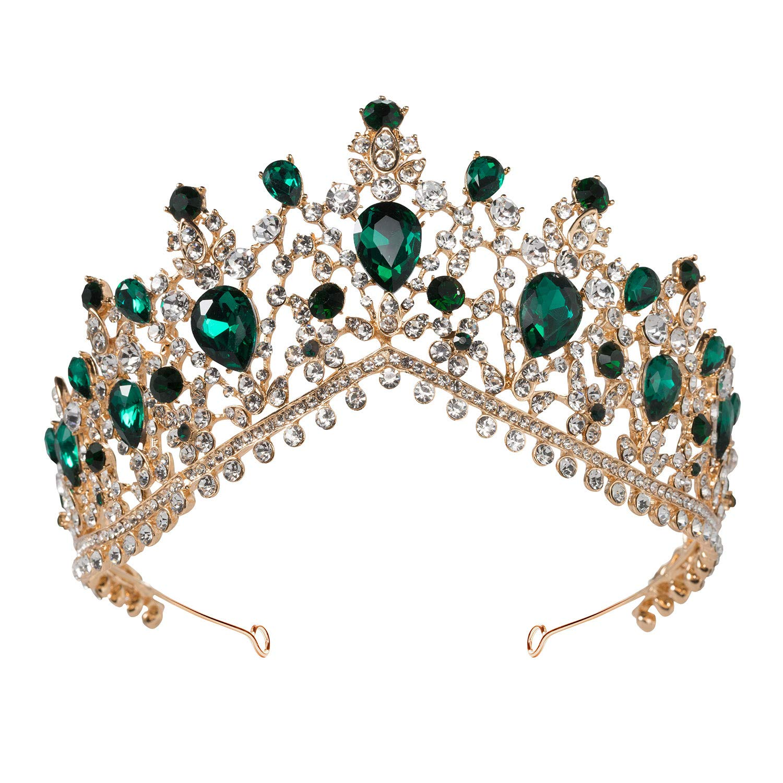 Emerald Tiara  Costume Accessories