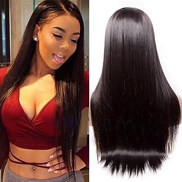 Amazon Com Maxine 9a Virgin Human Hair Lace Front Wig Brazilian