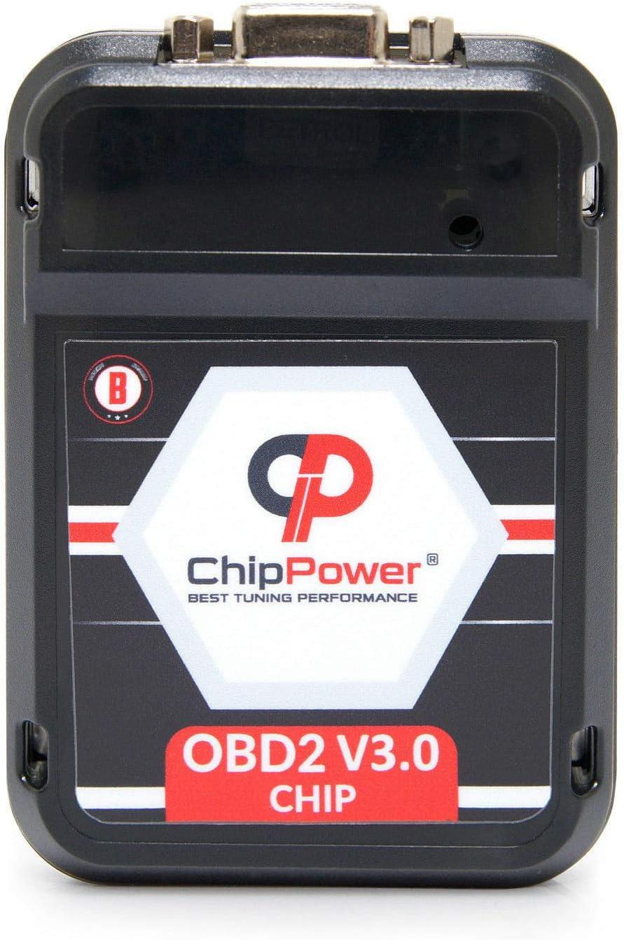 Chip Box Tuning OBD2 v3 for Cayenne 3.6 GTS 440HP Power Box Performance Petrol
