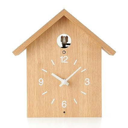 Muji Cuckoo Clock L Chestnut