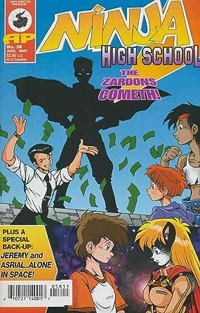 Amazon.com: Ninja High School #58 VF/NM ; Malibu comic book ...