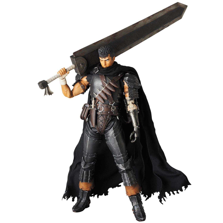 RAH(リアルアクションヒーローズ) ガッツ 黒い剣士Ver. (1/6スケール ABS&ATBC-PVC塗装済み可動フィギュア) B00SGQCU30