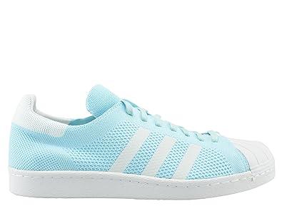 online store a1293 7190e adidas Superstar 80s Primeknit Herren Sneaker Blau