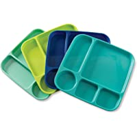 Nordic Ware 60155 Lightweight Party Tray Set of 4 Coastal Colors