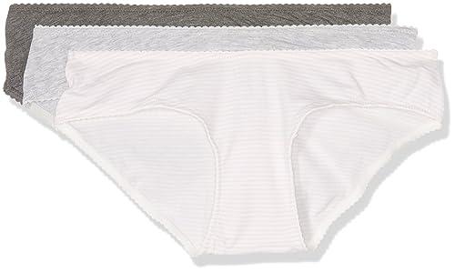 Women's Secret 4939379, Braguitas de meternidad Para Mujer, Pack de 3