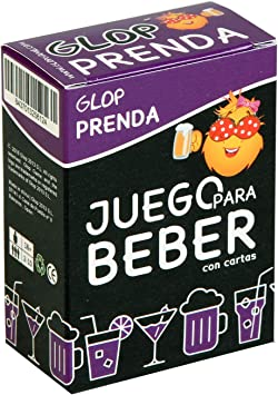 Glop Prenda - Juego para Beber con Prendas - Juego de Cartas para ...