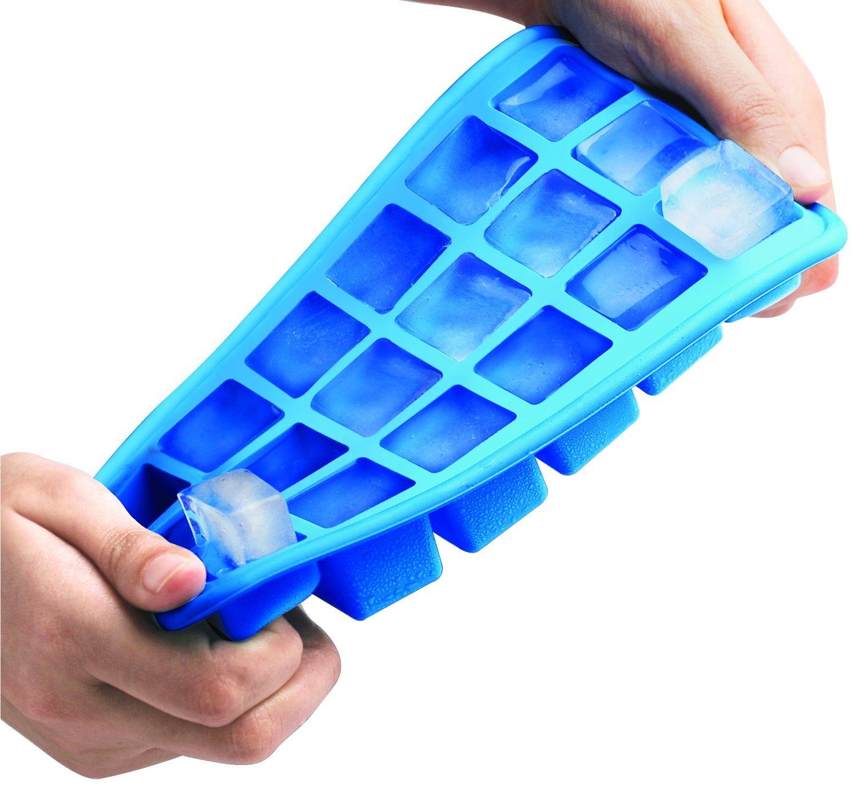Blue Siliconezone SZ12KS-11731AA Cubes n Tubes Silicone Ice Molds