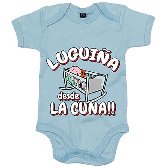 Body bebé Luguiña desde la cuna Lugo fútbol - Blanco, 6-12 ...