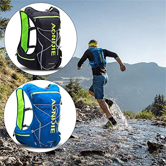 Amazon.com : AONIJIE 10L Hydration Pack Backpack Rucksack Bag Ultra Trail Running Vest Harness Water Bladder Hiking Camping Running Marathon Race Sports ...