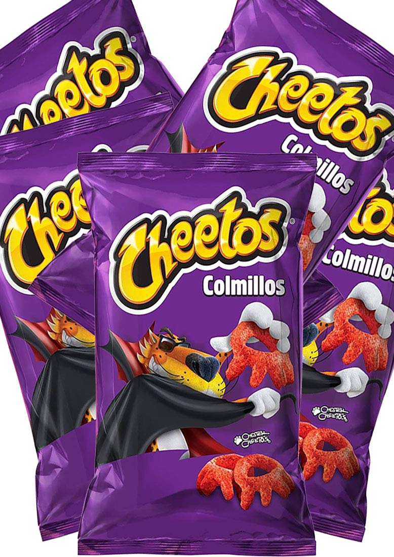 CHEETOS COLMILLOS 27g (Box with 5 bags)