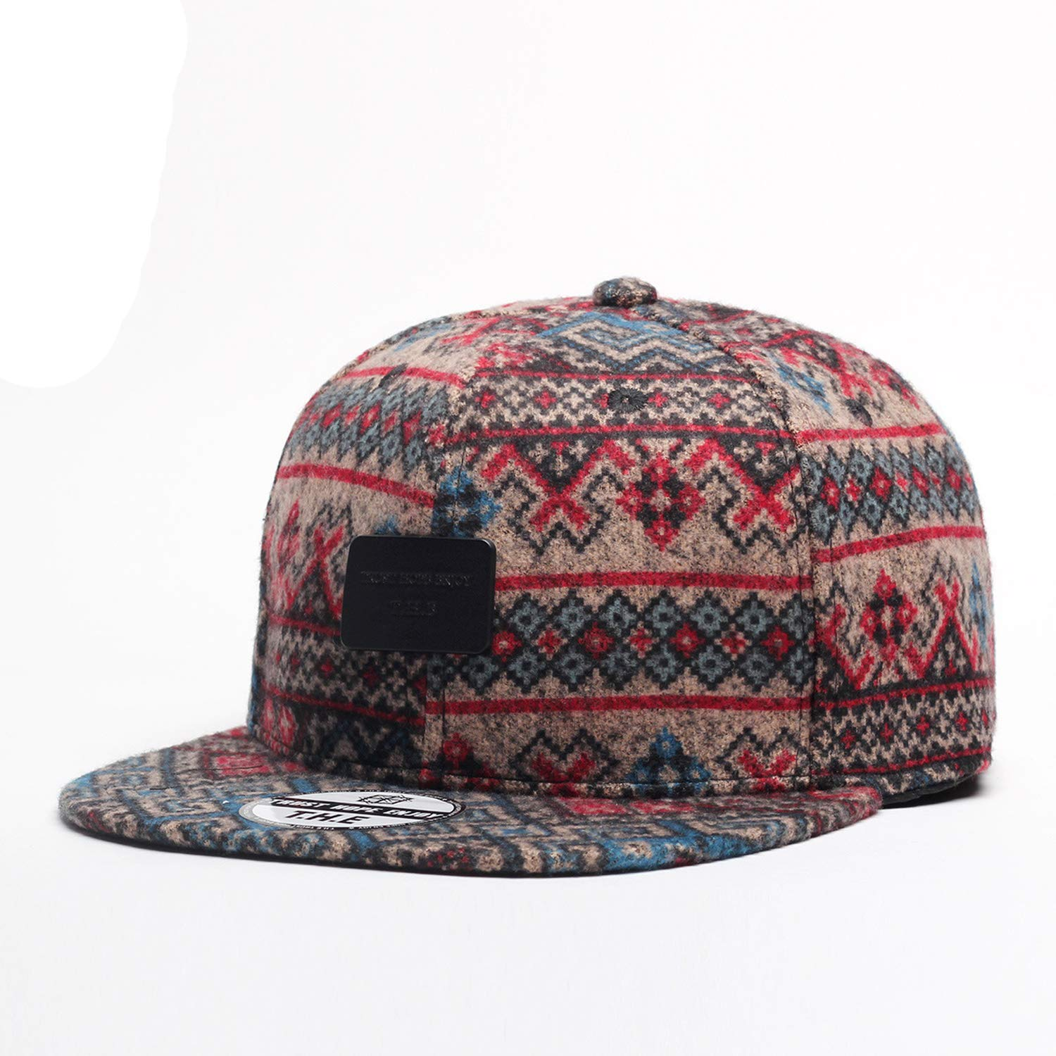 Cotton Hip hop Cap Baseball Caps for Street Dance National Wind Cap for Adult Winter Snapback Fashion Hat