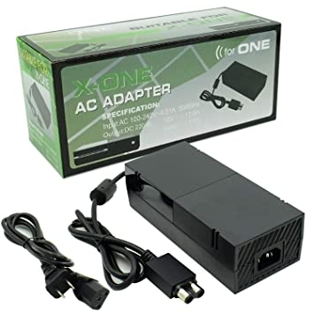 Xbox One Power Supply Brick Zeshuo Quietest Version Xbox One Ac Adapter Power Cord Replacement For Xbox One Console