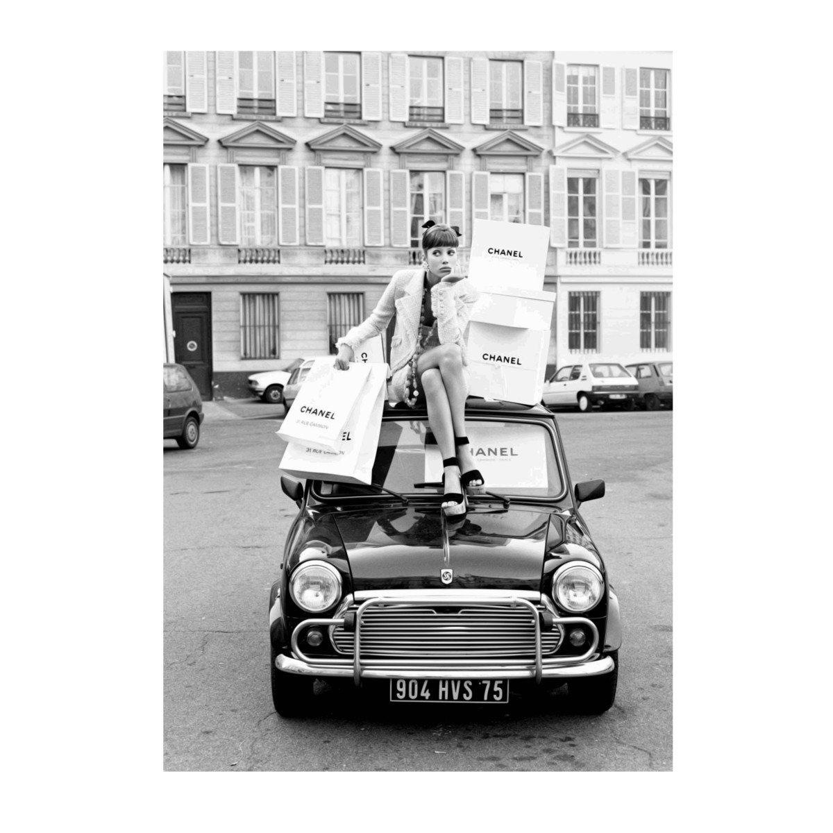 Aroma of Paris アートポスター おしゃれ インテリア 北欧 モノクロ アート #113 B3 ブラックフレーム B079KSTDFL B3 (364 x 515mm)|ブラックフレーム ブラックフレーム B3 (364 x 515mm)