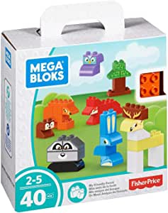 Mega Bloks My Friendly Forest Building Set