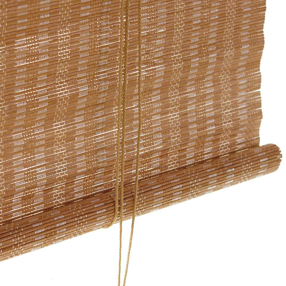 竹のローマのローラーはバランス、50cm / 60cm / 70cm / 80cm / 90cm / 100cm幅のキッチンパティオバルコニーのための窓の陰を転がして隠すロールアウトブラインド (Size : 120X200cm) 120X200cm  B07T73ZY55