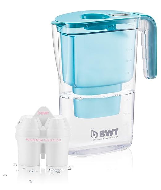 33 opinioni per BWT Easy-Fit Caraffa Filtrante Vida, Plastica, Blu, 26.4x11.5x28.7 cm