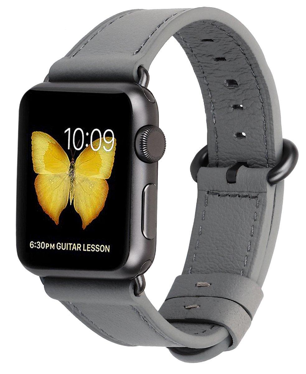 Malla Cuero para Apple Watch (42/44mm) PEAK ZHANG [7JMSSXCV]