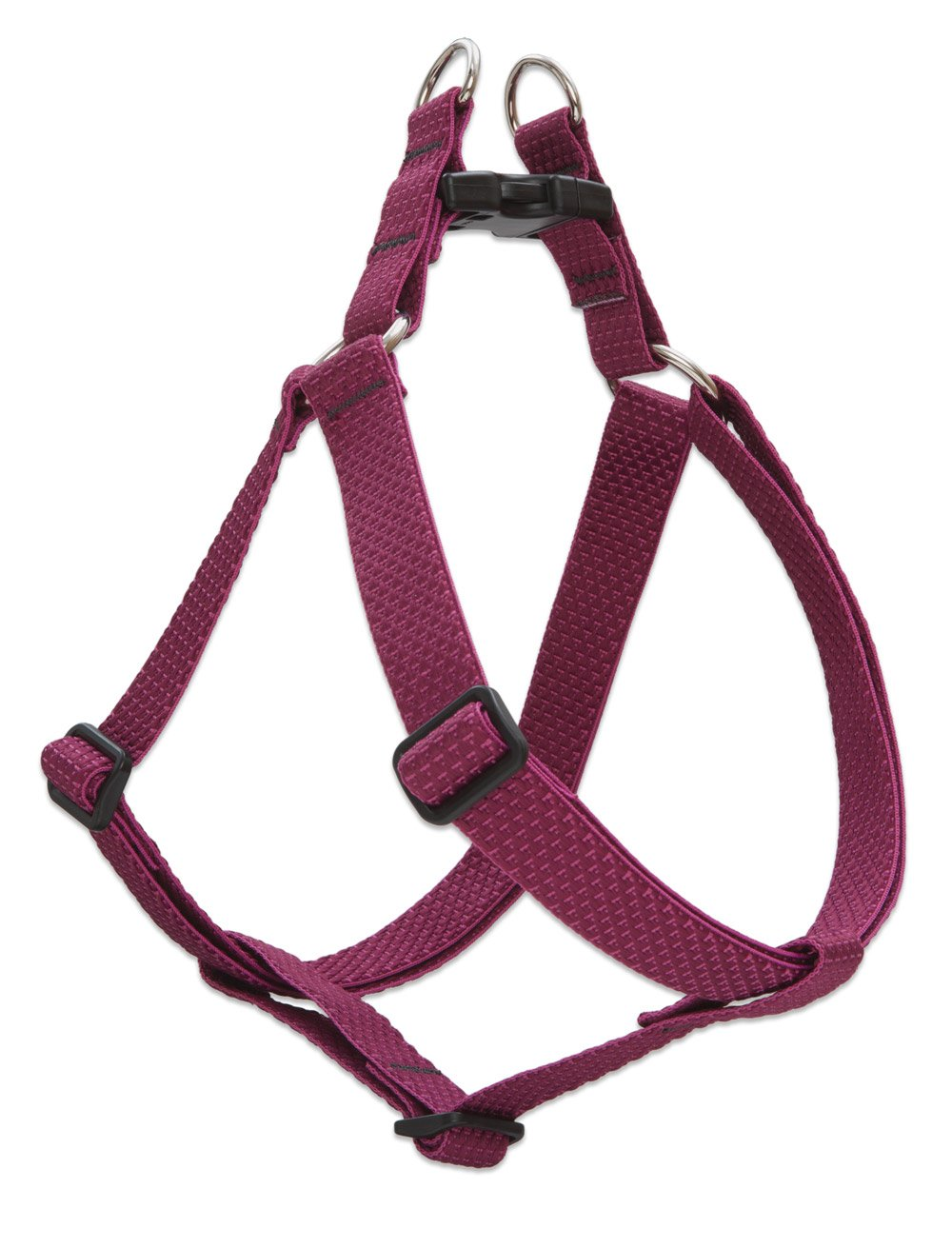 LupinePet Eco 1'' Berry 24-38'' Step In Harness for Large Dogs