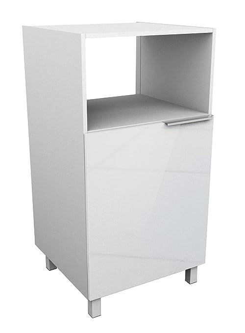 Berlioz Creations - Mueble para microondas, Otros, Blanco ...