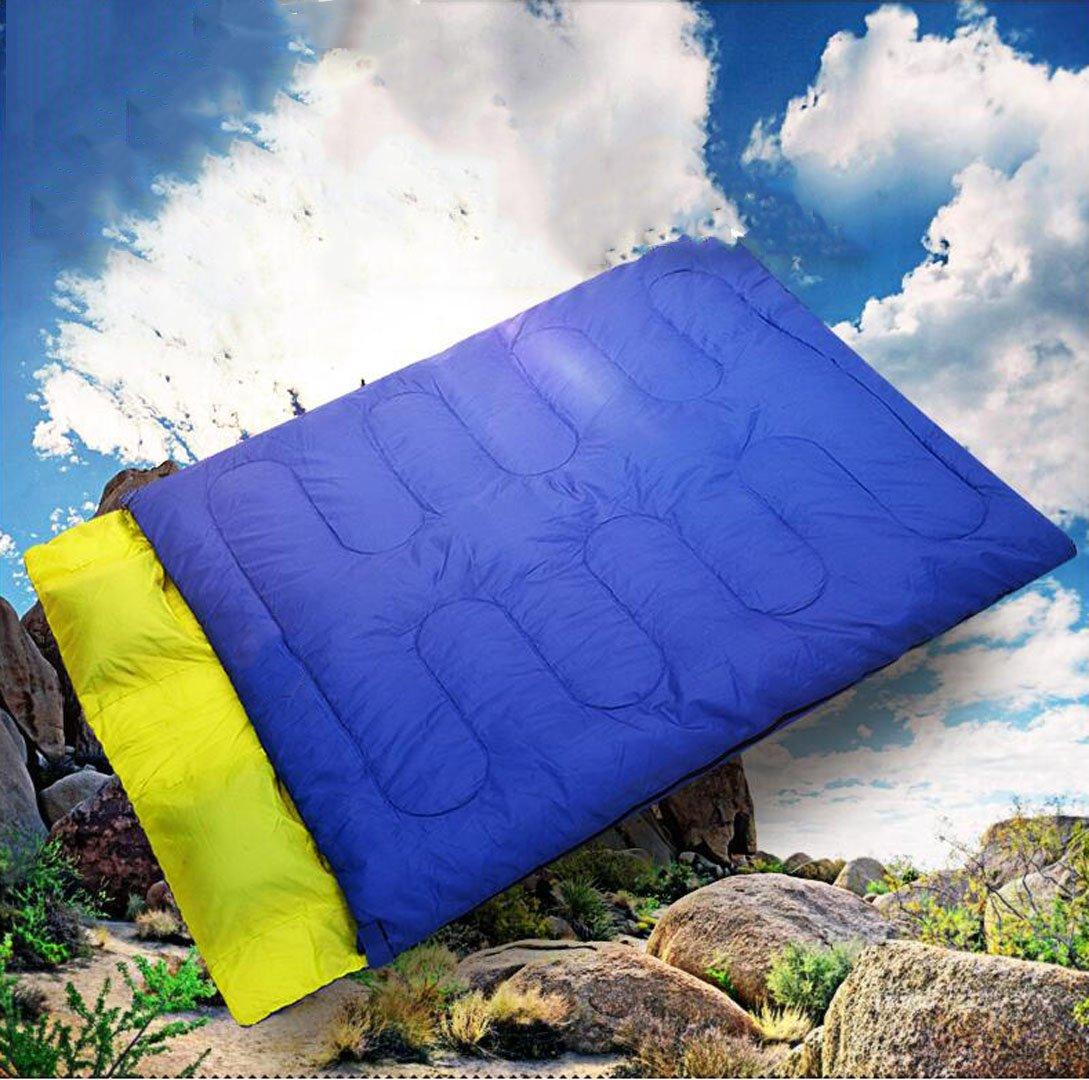CRMM Saco De Dormir para Acampar Sacos De Dormir Rectangulares - Ligero, Resistente Al Agua para Saco De Dormir Doble para Acampar Al Aire Libre para Par ...