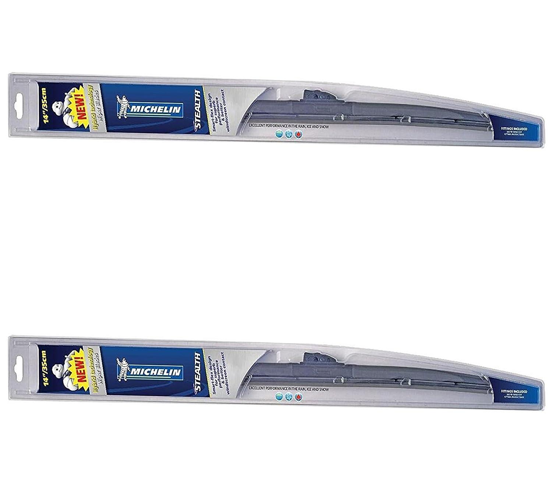 D2P Michelin Stealth híbrida para limpiaparabrisas par 21
