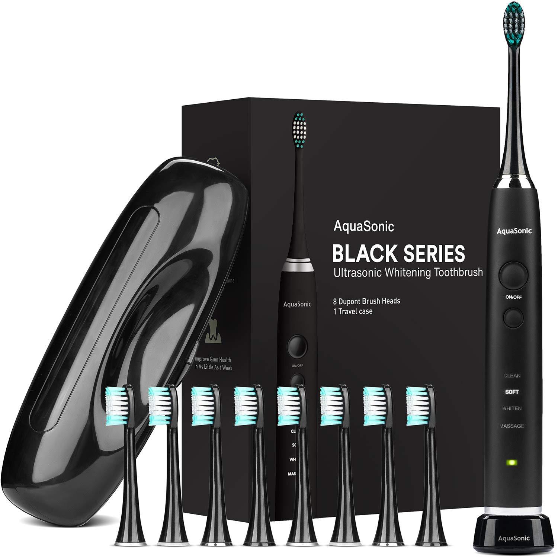 AquaSonic Black Ultra Whitening Modern Electric Toothbrush