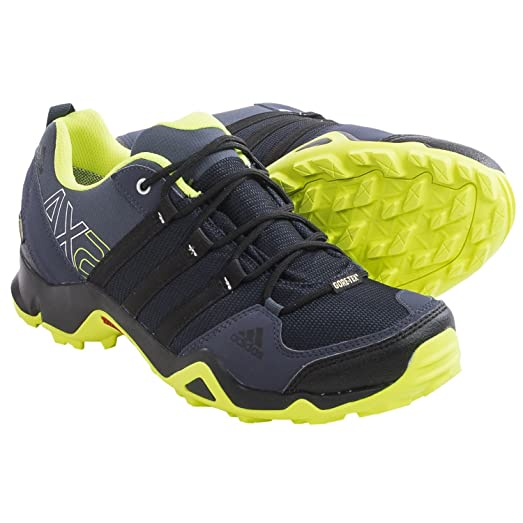 adidas Performance TERREX AX2 CLIMAPROOF - Hiking shoes - blue iifHhl9gCL