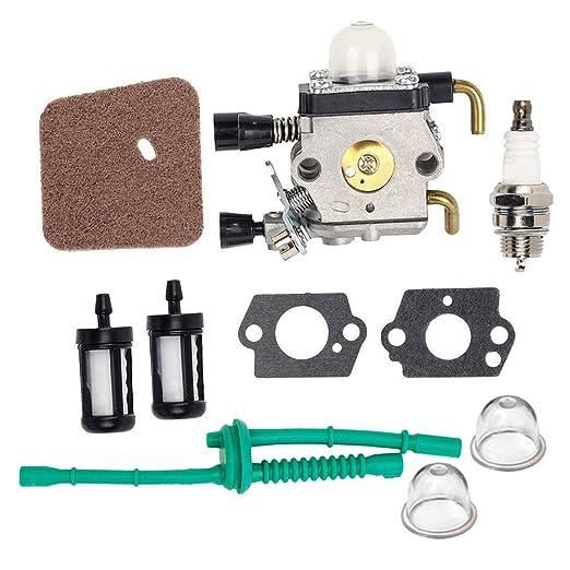 HIFROM C1Q-S97 carburador Kit de línea de combustible con filtro ...