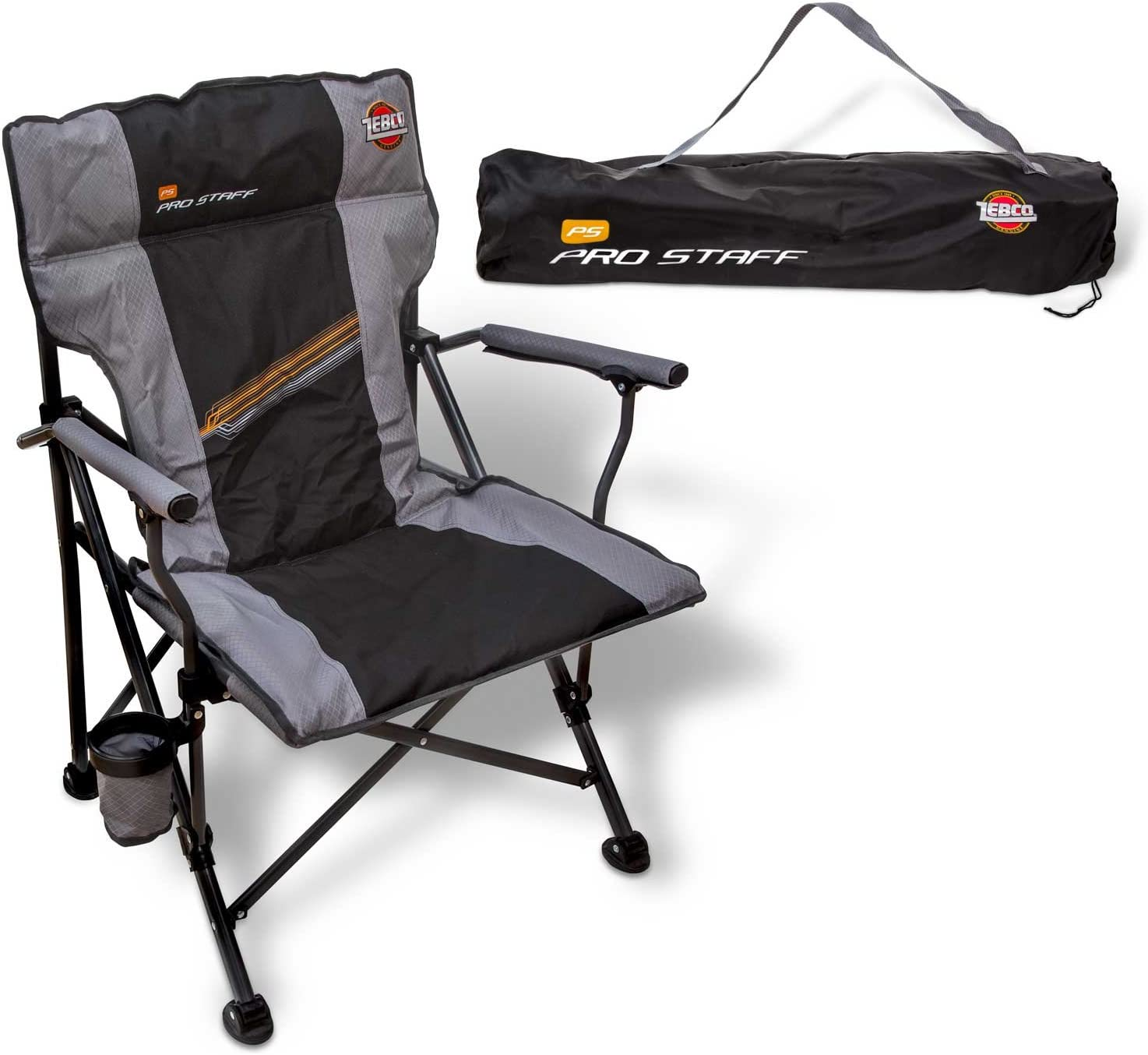 Zebco Pro Staff Chair Supreme Grey//Black 42 cm