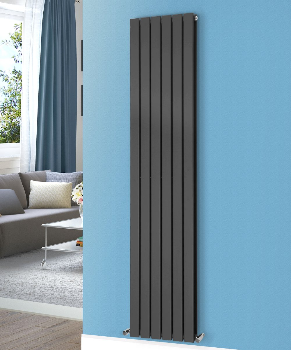NRG 1800x408 Vertical Flat Panel Designer Radiators Central Heating ...