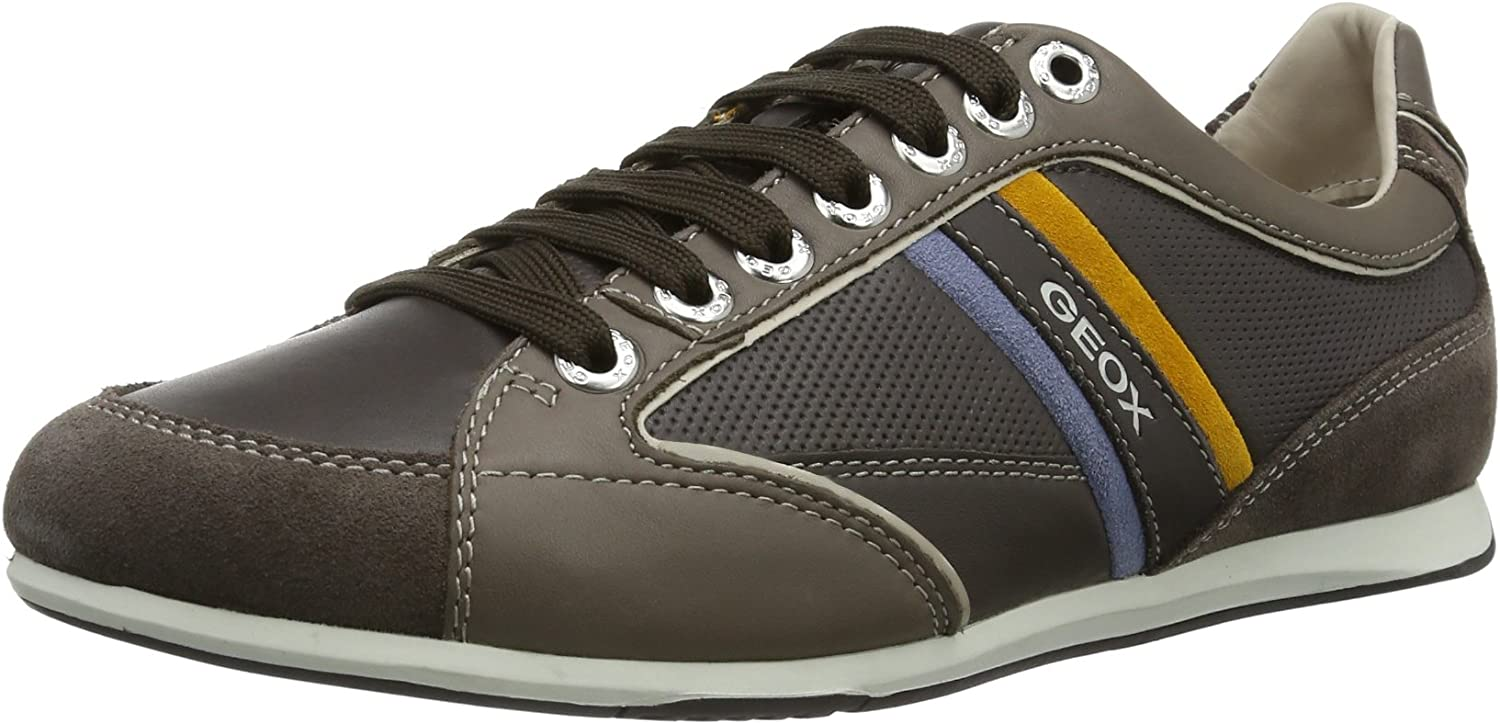 Fanático exposición Ingenieria  Geox Mens U Andrea P Low Brown Braun (Ebony/Taupe C6137) Size: 42:  Amazon.co.uk: Shoes & Bags
