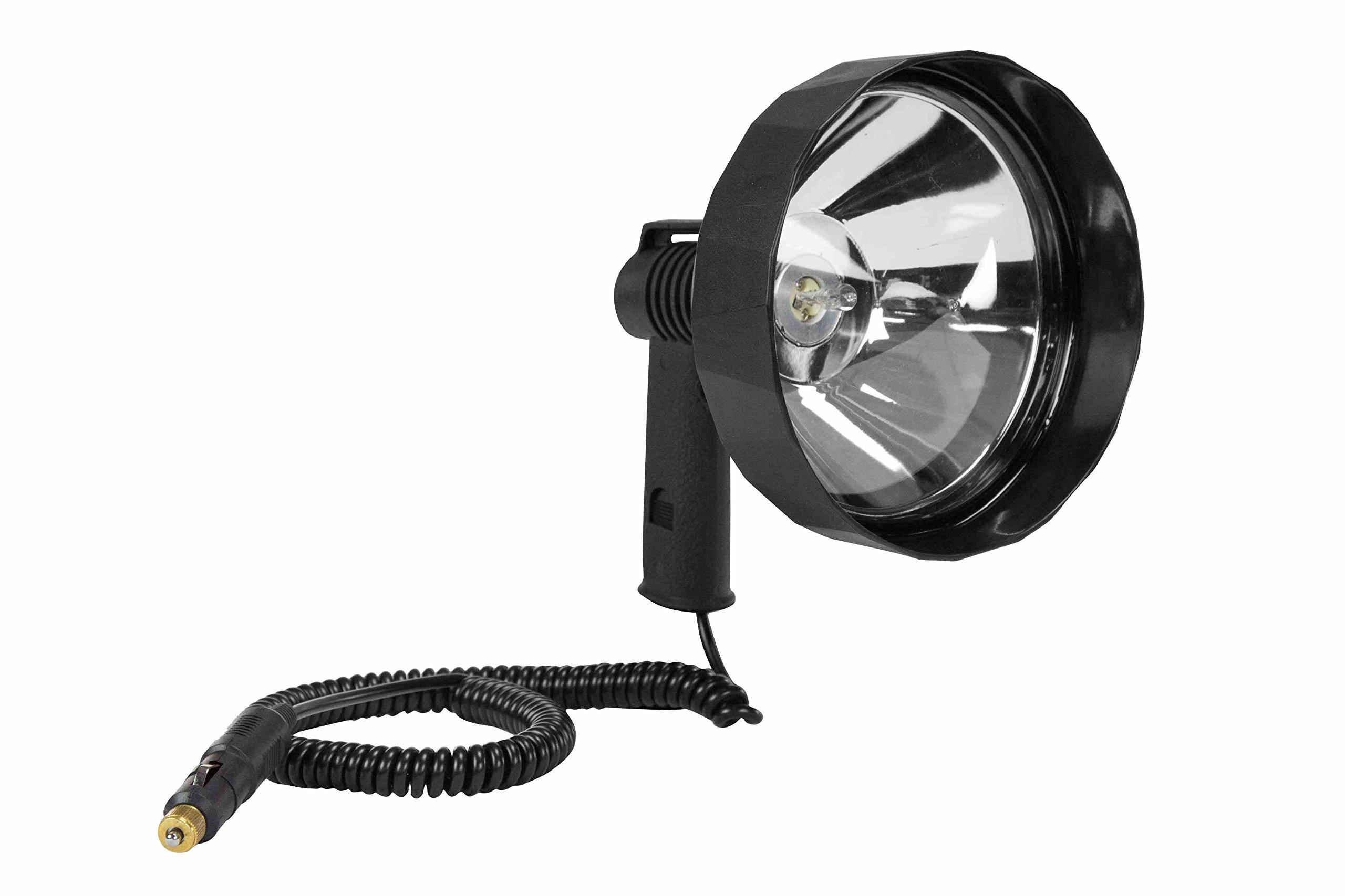 7 Million Candlepower Handheld Spotlight - 100 Watt Halogen - Spot & Flood Combo - 12V Spotlight