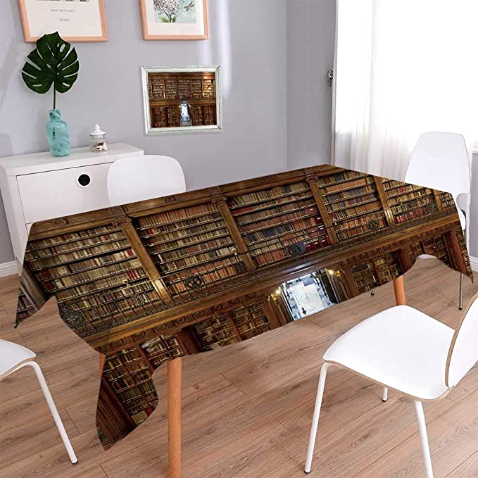 Amazon.com: PINAFORE HOME Rectangle Tablecloth Wonderful ...