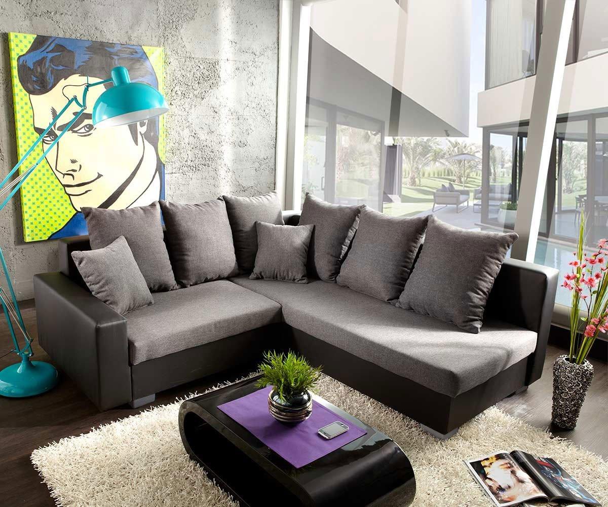 Couch lavello mit hocker ecksofa l sofa (eckcouch rechts mit ...