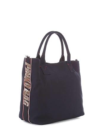 Pinko Borsa Shopping Donna 1H20hby4pbg5700001 Poliestere Blu  Amazon ... dc686a4c2f8