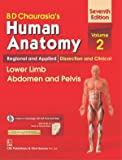 BD CHAURASIAS HUMAN ANATOMY 7ED VOL 2 REGIONAL AND APPLIED DISSECTION AND CLINICAL LOWER LIMB ABDOMEN AND PELVIS  (PB 2017)