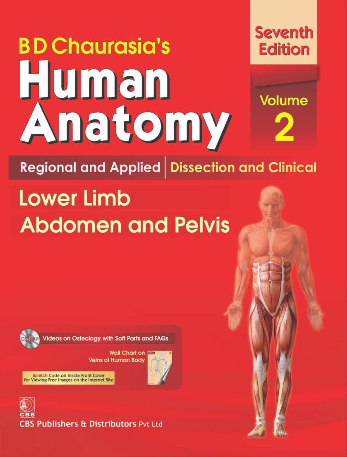 Buy B.D.Chaurasia\'s Human Anatomy : Regional & Applied Dissection ...