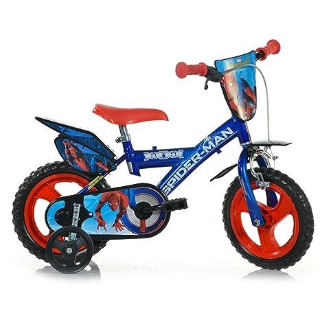 Dino Bikes 123 Sph Bicicletta Spiderman Misura 12 Nuova Versione